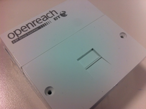BT Openreach socket, NTE5